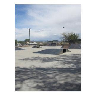 Empty Skate Park Postcard