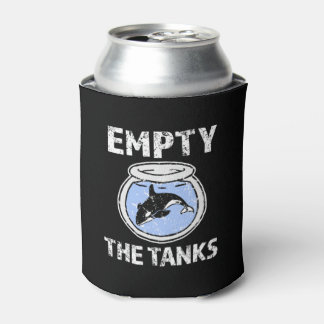 Empty the Tanks - Free the Orca Whales can cooler