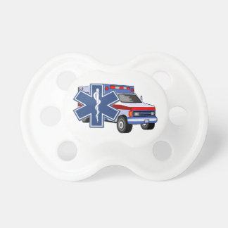EMS Ambulance Pacifier