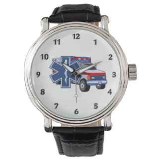 EMS Ambulance Wrist Watch