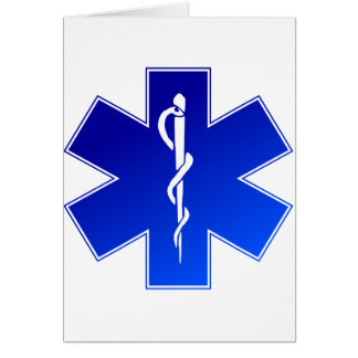 EMS Emergency Medical Service Card