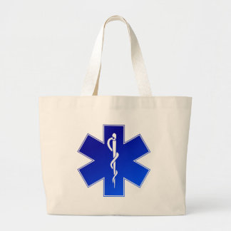 EMS Emergency Medical Service Large Tote Bag