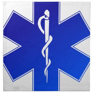 EMS Emergency Medical Service Napkin