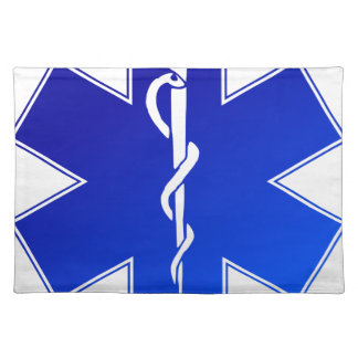 EMS Emergency Medical Service Placemat