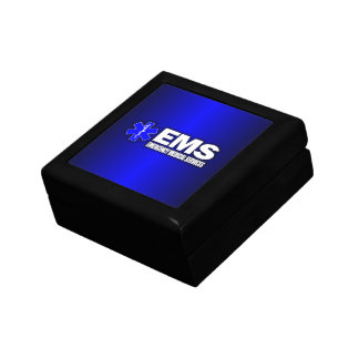 EMS -Emergency Medical Services Small Square Gift Box