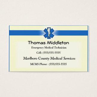 EMS / EMT Contact Card