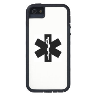 EMS EMT Paramedic Star Cover For iPhone 5
