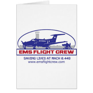 EMS Fixed Wing Turbo Prop Greeting Card