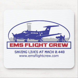 EMS Fixed Wing Turbo Prop Mouse Pad