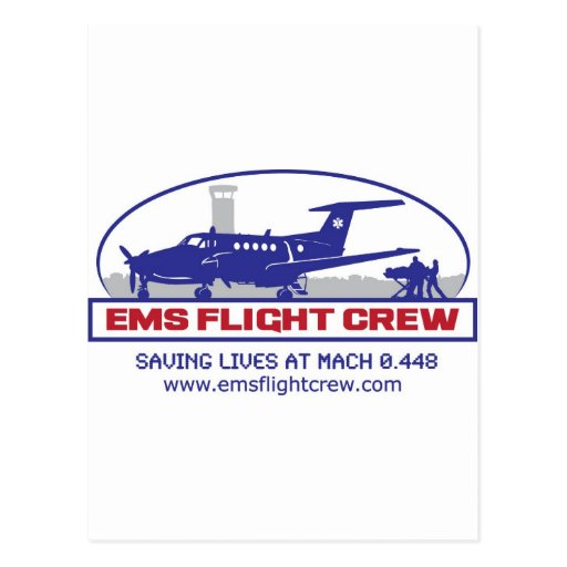 EMS Fixed Wing Turbo Prop Postcards