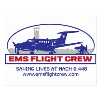 EMS Fixed Wing Turbo Prop Postcard