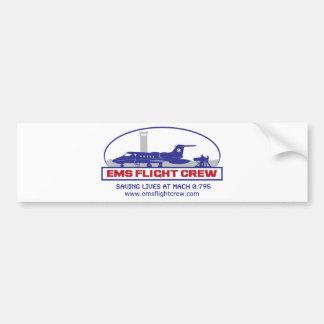 EMS Flight Crew Jet Bumper Sticker