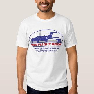 EMS Flight Crew Turboprop T Shirts