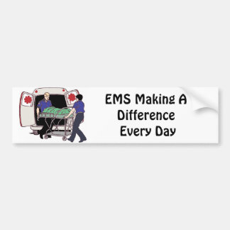 EMS Making a Difference Every Day Bumper Sticker
