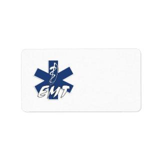 EMT Active Duty Address Label