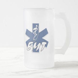 EMT Active Duty Frosted Glass Mug