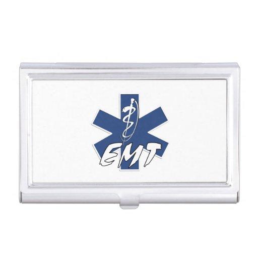 EMT Active Duty Business Card Case