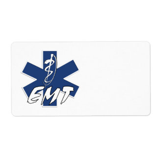 EMT Active Duty Shipping Label