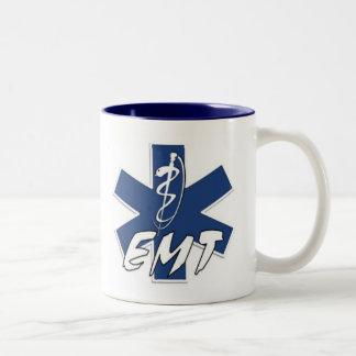 EMT Active Duty Two-Tone Coffee Mug