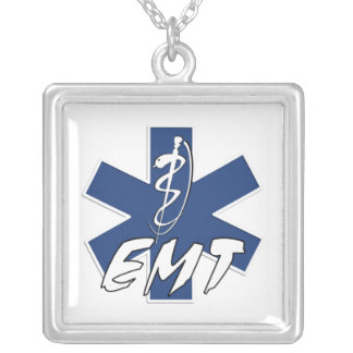 EMT Active Silver Plated Necklace