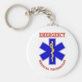 EMT BASIC ROUND BUTTON KEY RING