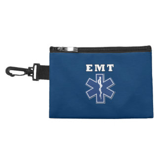 EMT Blue Star Of Life Accessory Bags