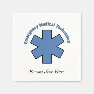 EMT Emergency Med Tech Disposable Serviette