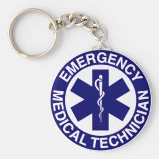 EMT Emergency Medical Technician Key Ring