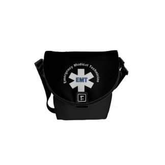 EMT Emergency Messenger Bag