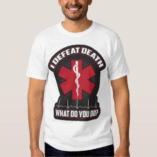 EMT I Defeat Death Tshirts