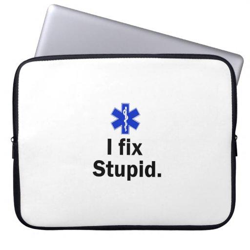 EMT I fix stupid Laptop Computer Sleeves