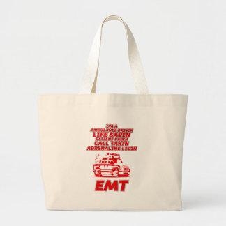 emt large tote bag