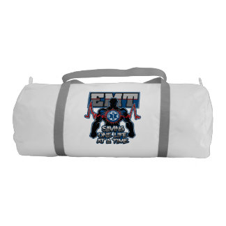 EMT Saving One Live at a Time Gym Duffel Bag