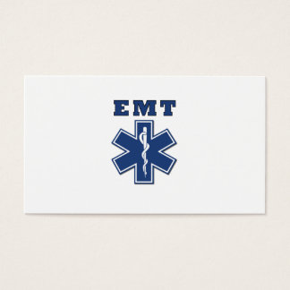EMT Star of Life Business Card