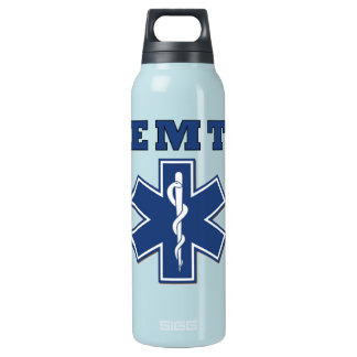 EMT Star of Life Insulated Water Bottle