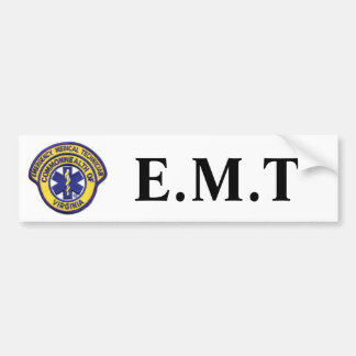emtpatch, E.M.T Bumper Sticker
