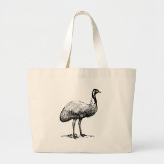 Emu Bird Large Tote Bag