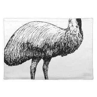 Emu Bird Placemat