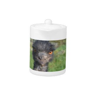 Emu Bird Teapot