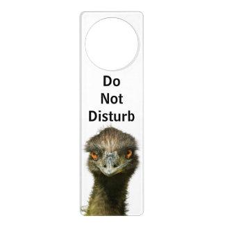 Emu Do Not Disturb Door Hanger