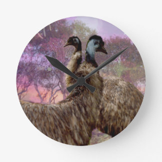 Emu Dreaming Clocks