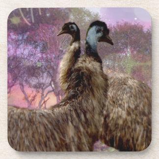 Emu Dreaming Coasters