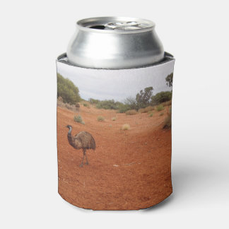 Emu in the outback can cooler
