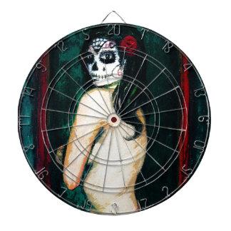 En el Dia de los Muertos Dartboard