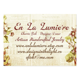 En La Lumiere Business Card September 2012