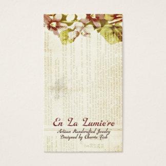 En La Lumiere Earring Card September 2012