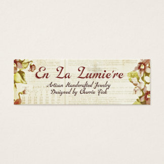 En La Lumiere Tag September 2012 Business Card