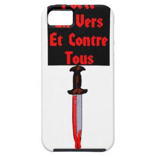 En Vers et Contre Tous - Jeux de Mots Francois iPhone 5 Case