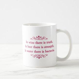 En Vino Veritas -cf Coffee Mug