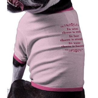 En Vino Veritas -cf-L Pet Shirt